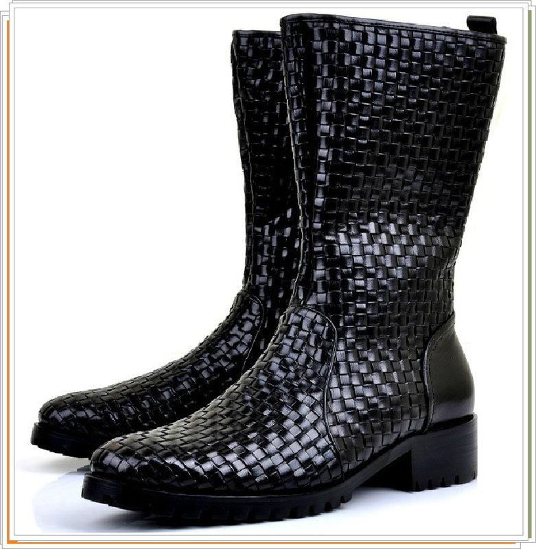 馬丁靴 真皮男鞋子-英倫時尚經典長筒靴5s14【義大利進口】【米蘭精品】