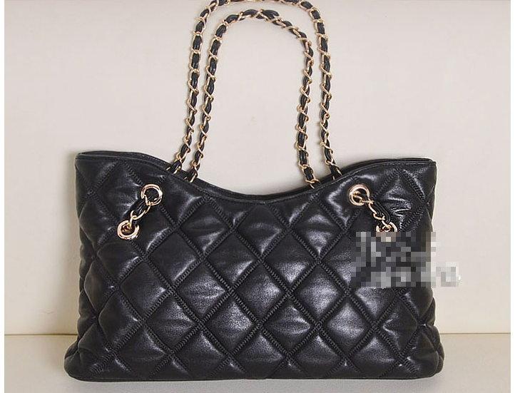 手提包 真皮肩背包-流行時尚經典高貴女鏈條包b74【義大利進口】【米蘭精品】