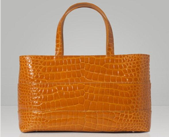 手提包 真皮鱷魚皮包包-流行經典高貴時尚名媛漆皮女包包L109【俄羅斯進口】【米蘭精品】