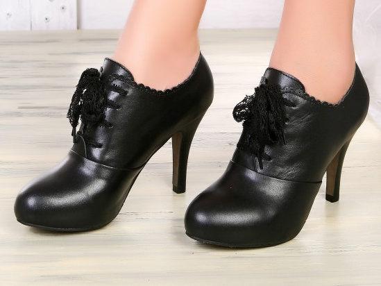 高跟裸靴 女鞋子-時尚皮革優雅休閒女靴子2色ws40【韓國進口】【米蘭精品】