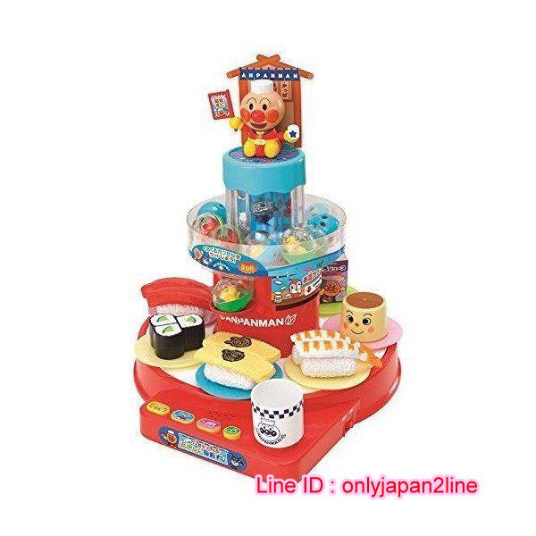 【真愛日本】16102700015 壽司轉盤玩具-AP    Anpanman 麵包超人 玩具 正品 限量 預購