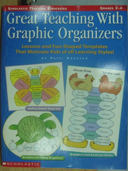 【書寶二手書T4/大學教育_XFZ】Great Teaching With Graphic..._1998年