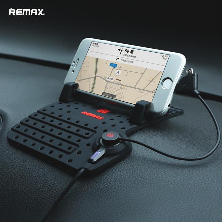 REMAX 車用防滑磁吸充電手機座 手機架