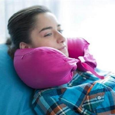 護頸枕頭 U型肩頸枕-辦公室多用途便攜好收納粒子居家用品8色73o5【獨家進口】【米蘭精品】