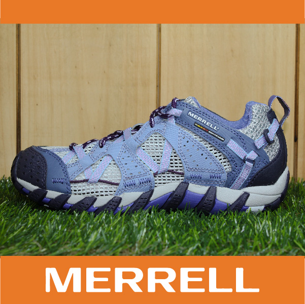 萬特戶外運動 MERRELL WATERPRO MAIPO 水陸兩用鞋 女款 低筒健行鞋 快乾透氣 淺紫