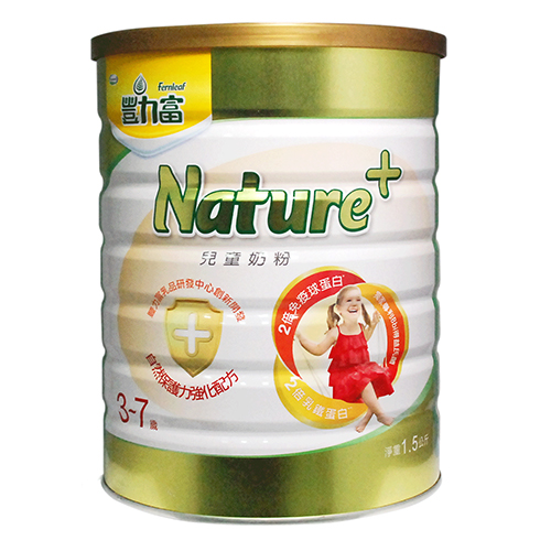 ★衛立兒生活館★豐力富Nature+ 3-7歲兒童奶粉1.5kg (6罐裝)贈好禮
