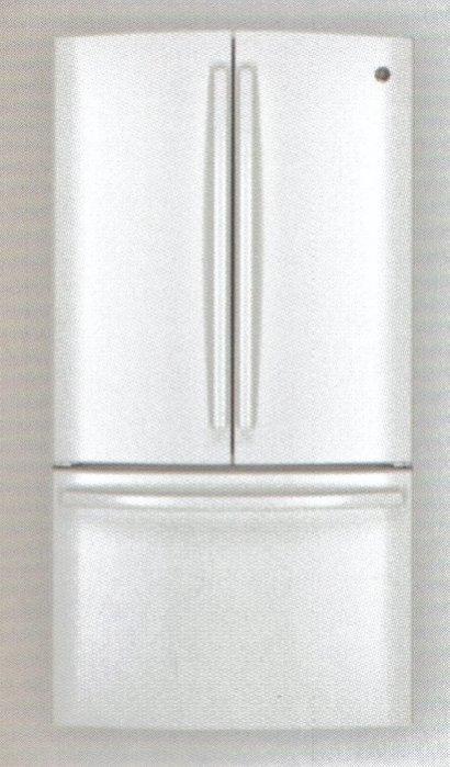 贈送 國際除濕機 美國GE奇異 (810L)  法式三門冰箱 GNE29GGWW