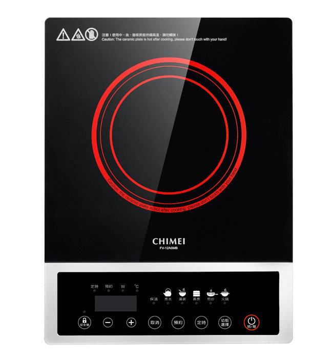 CHIMEI 奇美 1200W 薄型按鍵式電磁爐 FV-12A0MB