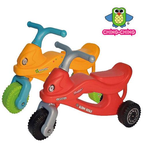 親親 機器人三輪學步車 (紅色、橘色) CA-21【德芳保健藥妝】學步車.滑步車.玩具車.碰碰車.助步車