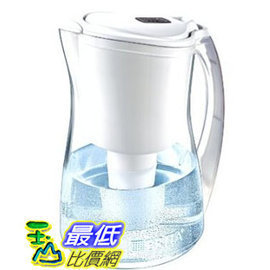 [手動時間顯示] Brita 濾水壺 Pitcher 內含圓形濾芯/濾心一個 容量約 8杯 Brita Marina Water Filter Pitcher, White $1498