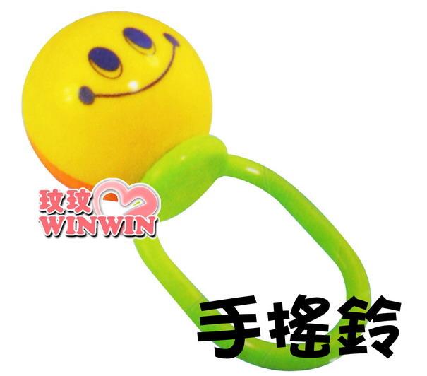 湯美天地Tommee -455296笑臉球手搖鈴 造型可愛 寶寶會喜歡
