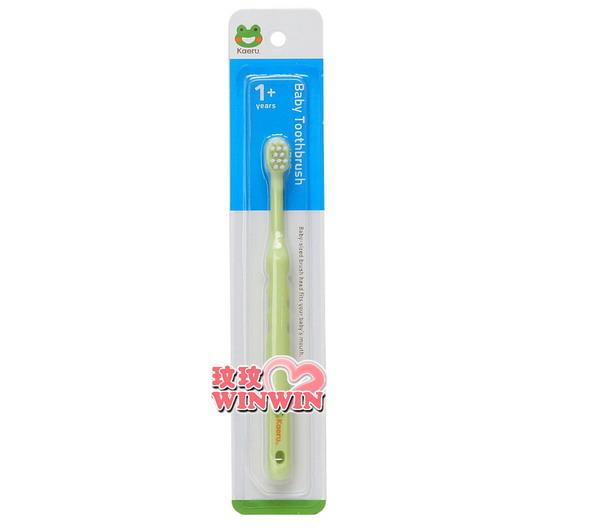 哈皮蛙 K-53056 幼兒整體口腔牙刷,小巧的刷頭,適合兒童的口腔