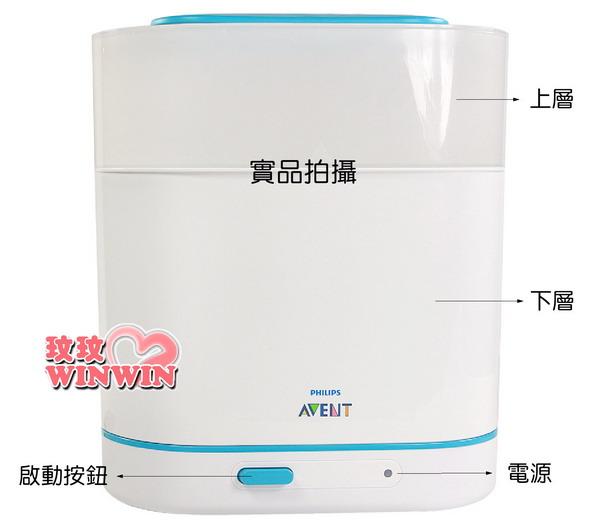 AVENT - 三合一電子快速蒸氣消毒鍋(SCF-284) 可彈性調整使用尺寸-媽咪好幫手