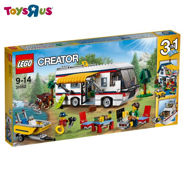 玩具反斗城 樂高 LEGO  度假露營車-31052***