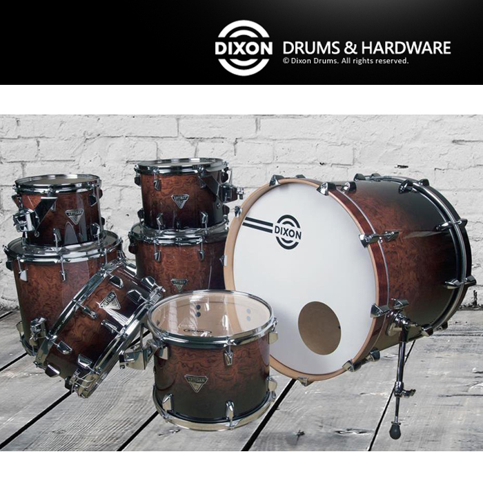 【非凡樂器】DIXON台製爵士鼓組Custom系列 頂級懸吊式(含套鈸,鈸架,鼓椅,鼓架,鼓棒)
