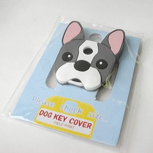 FIELD&POINT超可愛狗寶貝鑰匙套_法國鬥牛犬