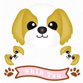 FIELD&POINT 超可愛狗狗車貼(西施)