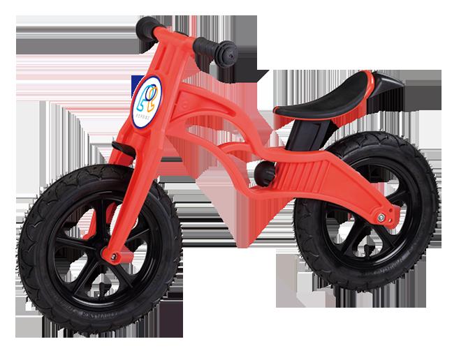 POP BIKE 普派氣胎滑步車 兒童滑步車/平衡車/學步車(紅)