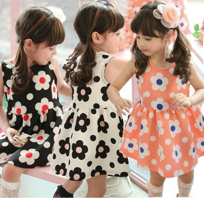 【貝貝樂SHOW】清新.靚麗花朵無袖雪紡材質洋裝裙~