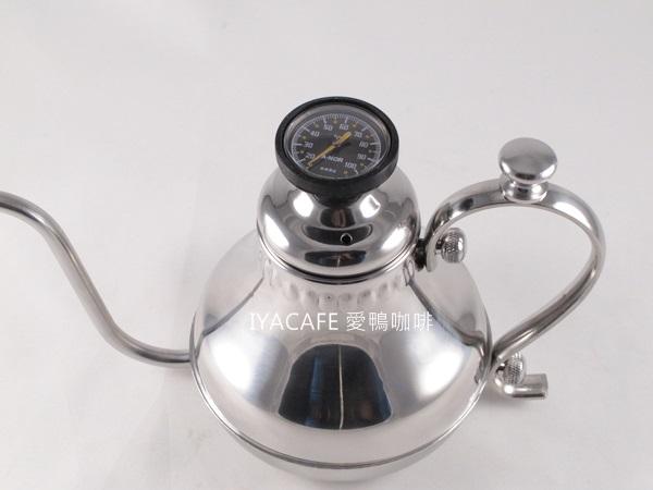 《愛鴨咖啡》細嘴 手沖壺 宮廷壺 附溫度計 專利設計 500ml
