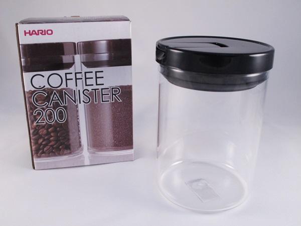 《愛鴨咖啡》Hario MCN-200B 咖啡豆儲豆罐 密封罐 200g