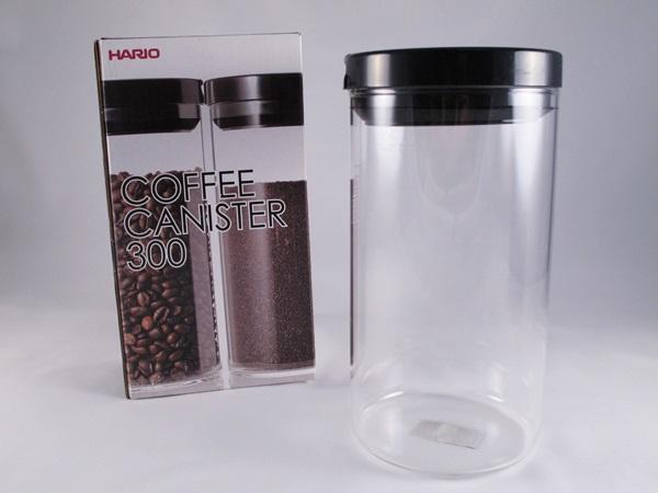 《愛鴨咖啡》Hario MCN-300B 咖啡豆儲豆罐 密封罐 300g