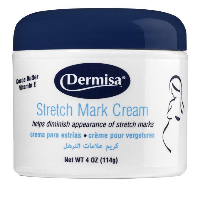 【彤彤小舖】美國品牌 Dermisa 纖體美腹霜 Stretch Mark Cream 114g