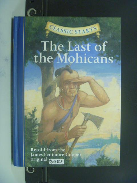 【書寶二手書T6/原文小說_OIU】The Last of the Mohicans_James