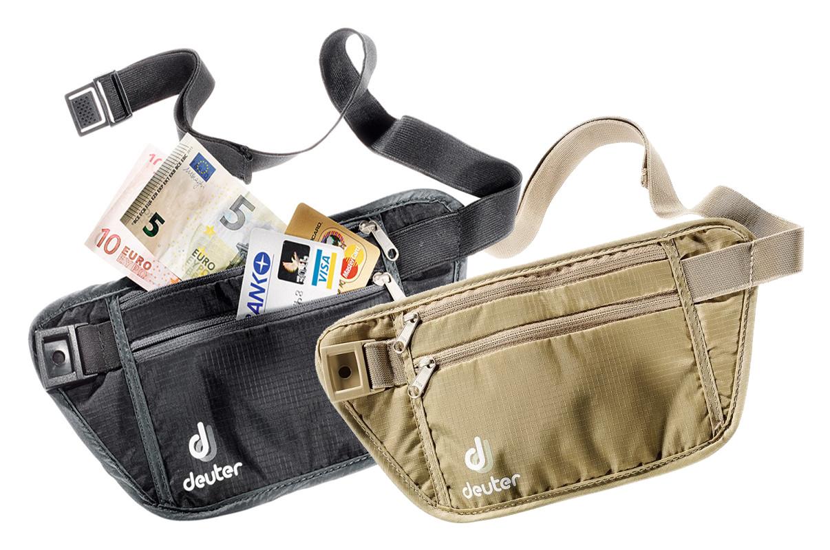 [德國Deuter] 隱藏式 錢包 Security Money Belt (S) 旅行用腰帶式藏錢/證件/護照/防竊/ 防搶  #39124