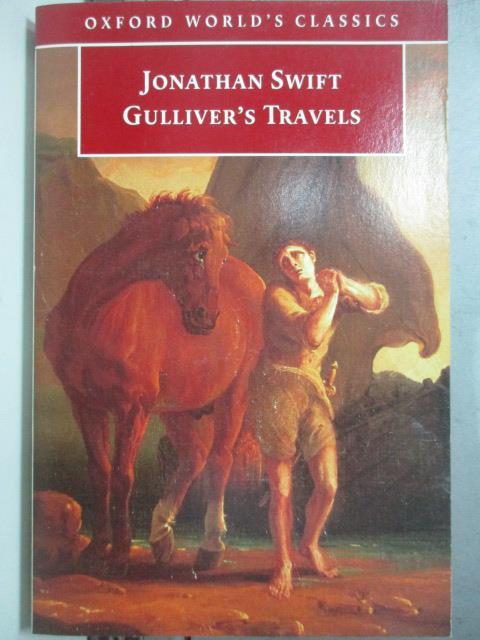 【書寶二手書T1/原文小說_OTK】Gulliver's Travels(格列佛遊記)_Jonathan Swift