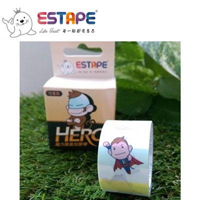 王佳膠帶 ESTAPE 魔力猴系列PC2537X易撕貼Memo(英雄)/ 盒