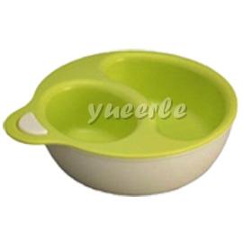 【悅兒樂婦幼用品舘】Yummy Rabbit BABY 離乳副食品雙層碗組(綠)