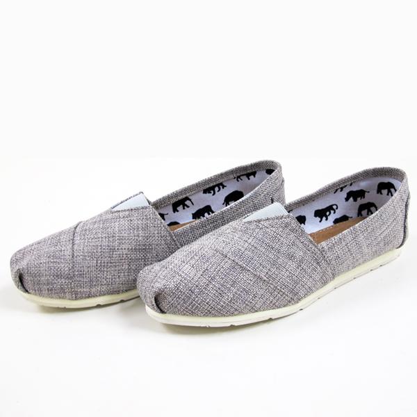 TOMS鞋型人氣懶人鞋灰色-JC collection