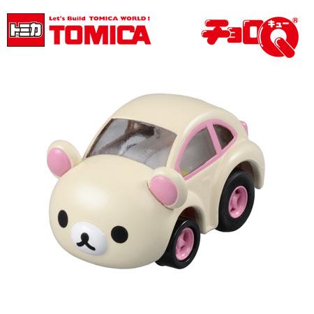 日貨 TOMICA 阿Q車 牛奶熊 QM-07 多美小汽車 Rilakkuma 阿Q迴力車 迴力車 日本進口【B061493】