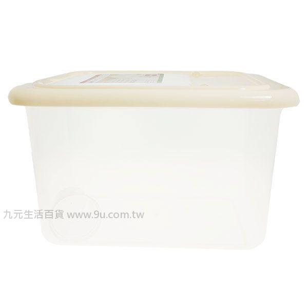 【九元生活百貨】美廚掀蓋日式米箱/15kg 儲米桶