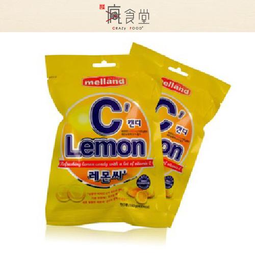 韓國 melland 蜜爾樂檸檬VC糖 (100g)