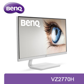 BenQ   VZ2770H  不閃屏/低藍光護眼 27吋極致薄邊框廣視角美型液晶螢幕 白色