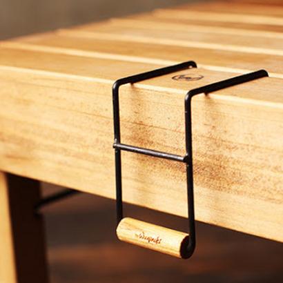 Wooginoki 金屬桌邊架/風格露營 W036/台北山水