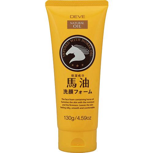 日本原裝熊野油脂 KUM 馬油保濕洗面乳 130g
