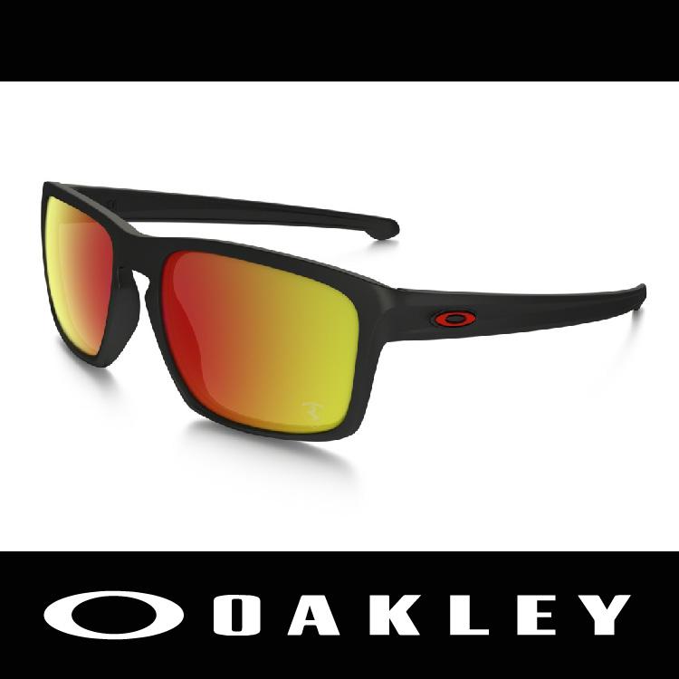 萬特戶外運動-美國 OAKLEY 太陽眼鏡 SLIVER FERRARI® 法拉利聯名款 鍍銥鏡片 休閒款 OO9269-07