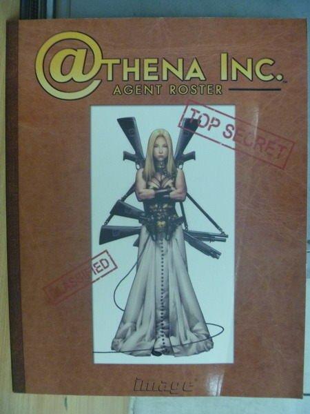 【書寶二手書T5/藝術_PAE】Athena Inc. Agent Roster