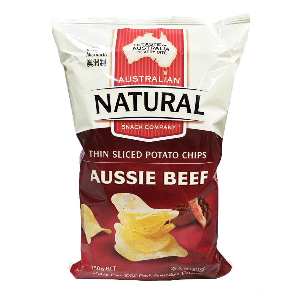 澳洲進口 NATURAL 洋芋片-澳洲牛肉150g