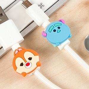 美麗大街【BF137E16E3】可愛卡通蘋果數據線保護套蘋果充電器專用保護頭