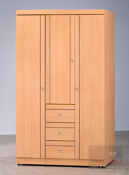 【尚品家具】CF-374 山毛櫸 3x7尺 衣櫥