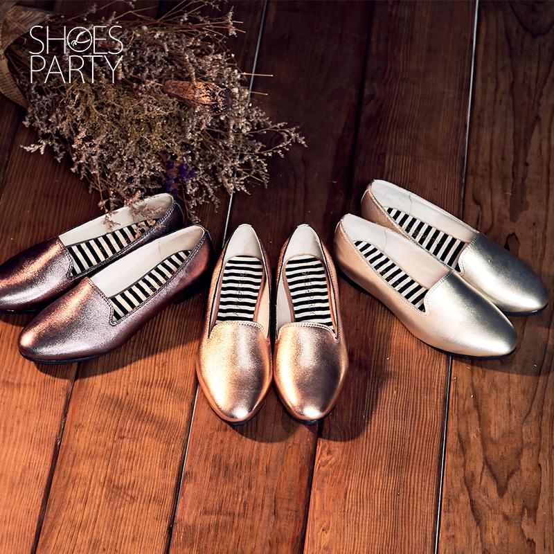 【C2-16817L】金箔羊皮歐貝拉_Shoes Party