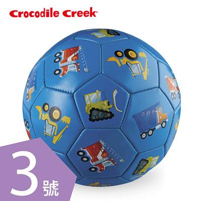 【悅兒園婦幼生活館】美國 Crocodile creek 3號兒童運動遊戲足球-交通工具(19.7cm)