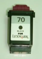 12A1970 (70)【台灣耗材】 LEXMARK利盟環保墨水匣 12A1970 (70) 黑色 適用LEXMARK印表機型號C4200/X4270/X4250/X85/X83/X73/X125/Z53/Z52/Z51/Z45/Z43/Z42/Z31/3200/7000/5700/5000/Z11 美國優質墨水製造  12A1970 (70)