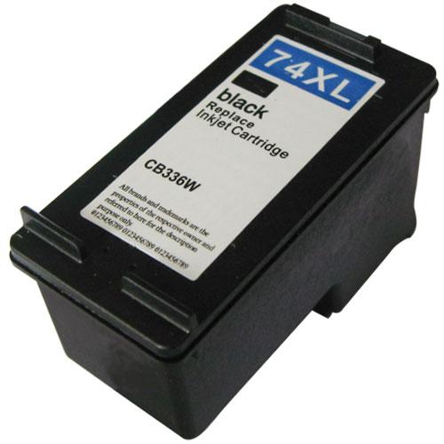 HP 74XL CB336WA【台灣耗材】HP 74XL CB336WA環保墨水匣 黑色 高容量 適用HP D4100/D4160/D4260/J5780/J6480/C4280/C4380/C4480/C5280/C6280/D5360 HP 74XL CB336WA