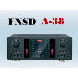 擴大機 綜合擴大機 FNSD華成數位迴音卡拉ok伴唱機綜合擴大機 A-38 5.1聲道 輸出功率350W+350W 卡拉OK擴大機 伴唱擴大機☆另可搭配其他型號伴唱機音響組