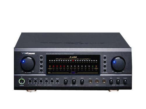 擴大機 音響擴大機 TDF P-650旗艦型大功率數位混音綜合擴大機 內置雙動態擴展功能 卡拉OK擴大機 伴唱機擴大機☆另可搭配其他型號伴唱機音響組